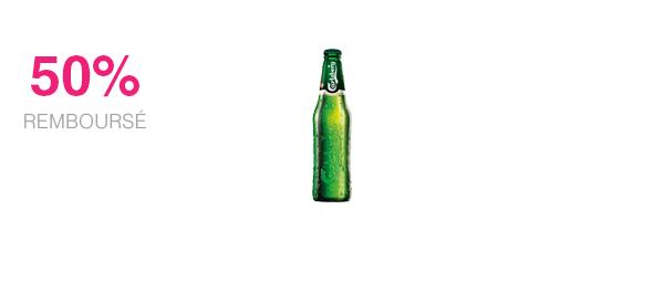 Carlsberg en bouteille 25cl et 33cl