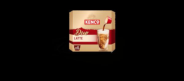 Kenco Duo Latte Coffee x6