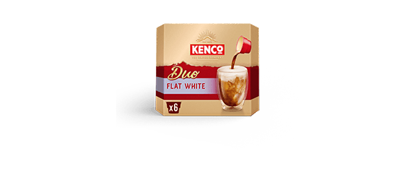 Kenco Duo Flat White Coffee x6