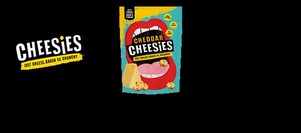 Cheesies Crunchy Bites of 100% Cheese