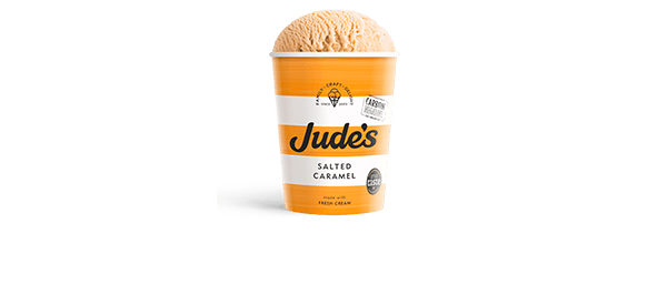 Jude's Salted Caramel 460ml