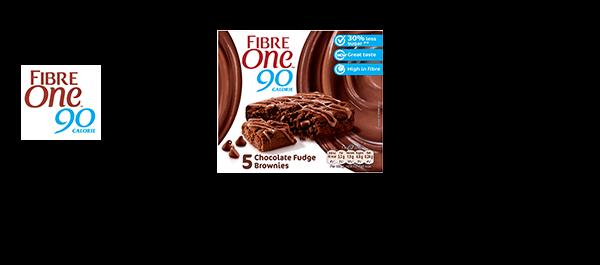 Fibre One 90 Calorie Brownies