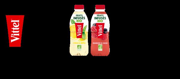 Vittel® & Fruits Infusés Bio