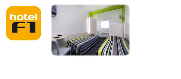 Un séjour chez hotelF1