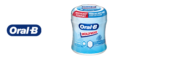 Chewing-gums Hollywood Oral-B