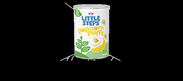 LITTLE STEPS® Banana Puffs