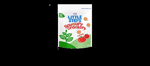 LITTLE STEPS® Savoury Tomato Crackers