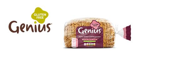Genius Triple Seeded Sandwich Loaf