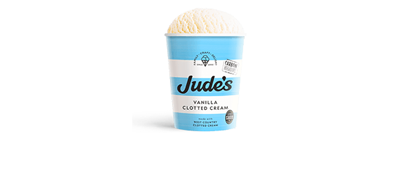 Jude's Vanilla Clotted Cream 460ml