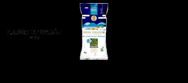 Chips d'algues