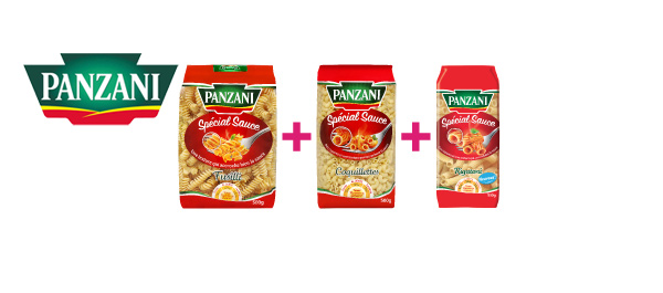 Les Pâtes Spécial Sauce Panzani