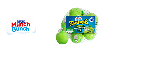 Munch Bunch® Squashums Fruit Puree