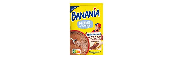 Poudres chocolatées BANANIA