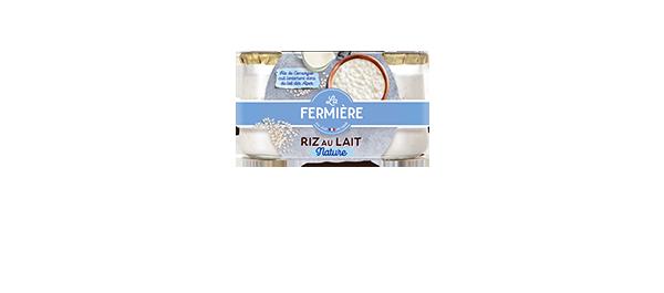 Riz au lait La Fermière