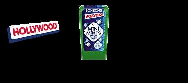 Gamme Hollywood Bonbons Mini Mints