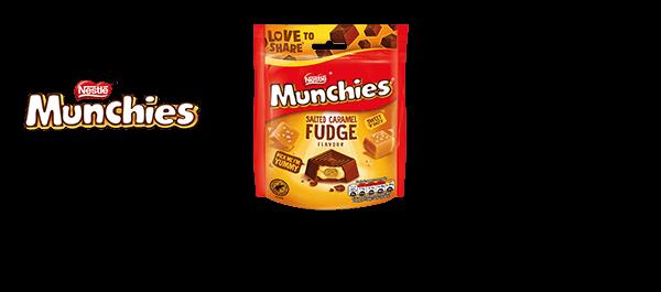 Munchies Salted Caramel Fudge Bag
