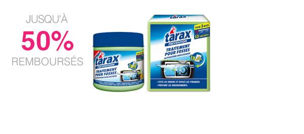 Produits pour fosses septiques TARAX