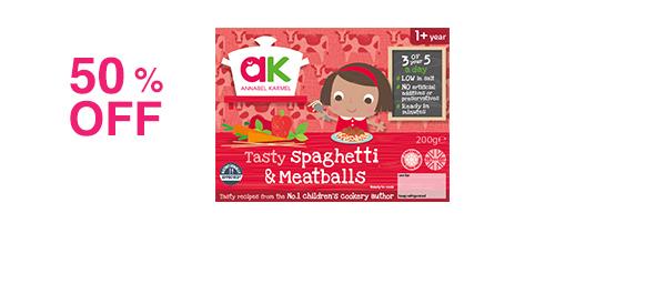 Tasty Spaghetti & Meatballs