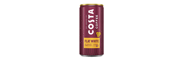 Costa Chilled Coffee in a can