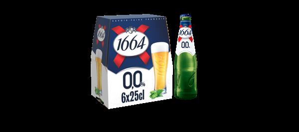 Bière 1664 sans alcool