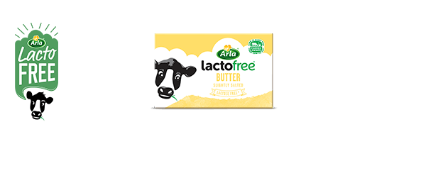New Arla LactoFree Butter