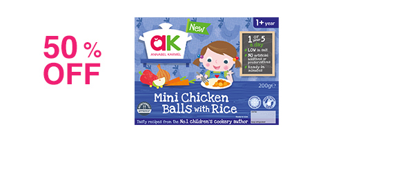 Mini Chicken Balls with Rice