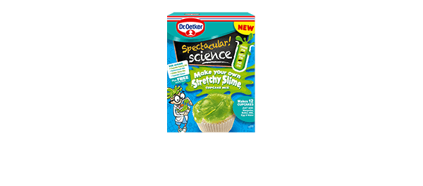 Stretchy Slime Cupcake Mix
