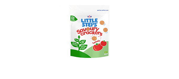 ITTLE STEPS® Savoury Tomato Crackers