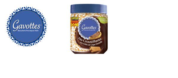 Pâte à tartiner Croustillante Gavottes®