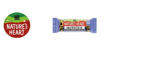 Nature's Heart Plant Protein & Nut Bars