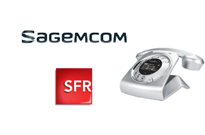 Téléphone fixe  Sagemcom Sixty