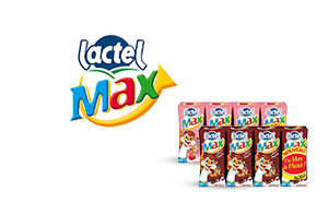 Lactel Max  Chocolat et Fraise