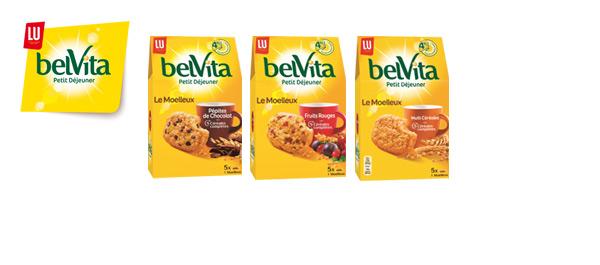 Les Moelleux belVita Petit Déjeuner