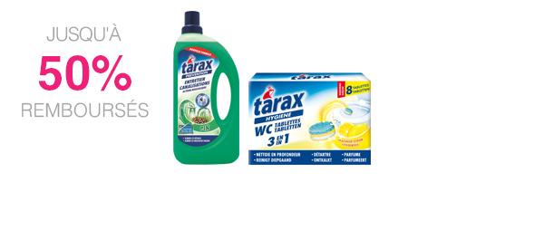 Produits d'entretien TARAX