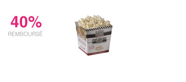 Popcorn Box Salé ou Sucré