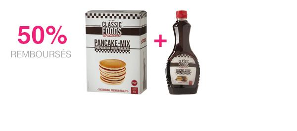 Pancake Syrup et Pancake Mix