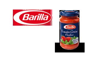 Sauces tomate Barilla