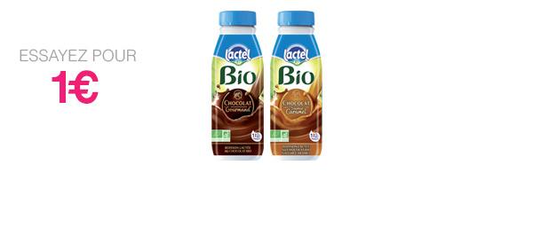 1 bouteille 50cl Lactel Bio Chocolat
