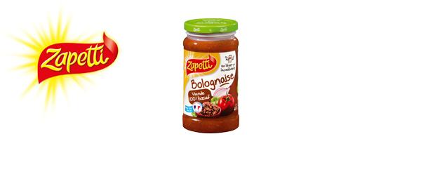 Les sauces Zapetti