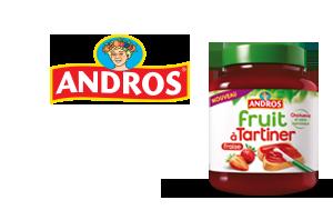 Andros fruit à Tartiner