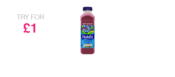 Blue Machine 450ml juice smoothie