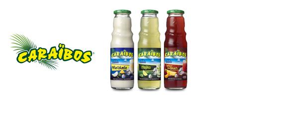 Caraïbos, les jus pour cocktail
