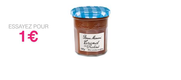 Caramel Praliné aux noisettes torréfiées