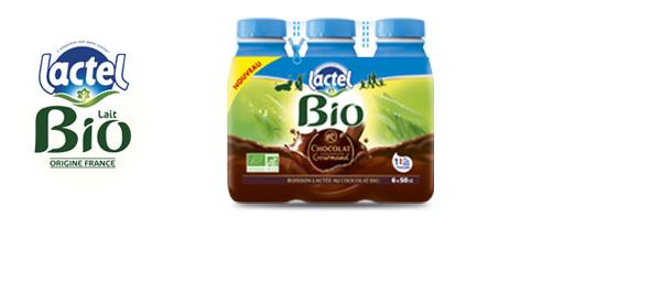 Lactel Bio Chocolat Gourmand