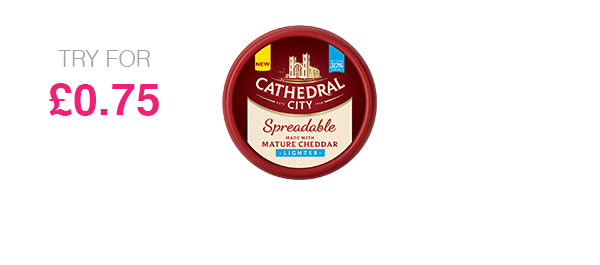 Mature Lighter Spreadable Cheese