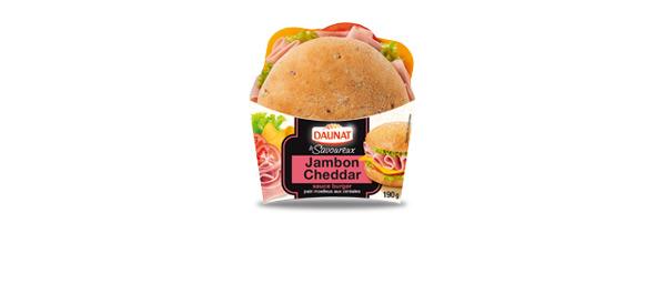 Le Savoureux Jambon Cheddar