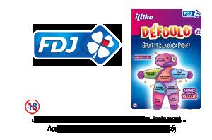 FDJ® illiko® Jeu de grattage