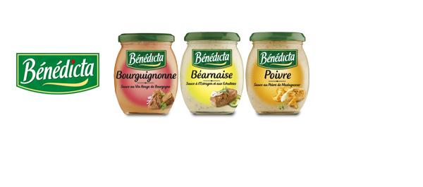 Les sauces Culinaires Bénédicta