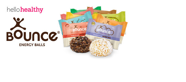 Bounce Protein Energy Balls