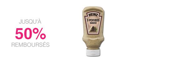 Sauce 3 Poivres Heinz